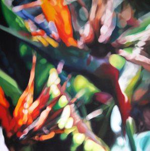 Euphoria floral painting
