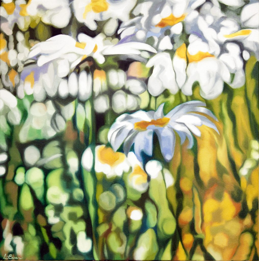 floral oil painting by Lynsey Ewan Artist
